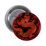 Rey Button del dragón Pins