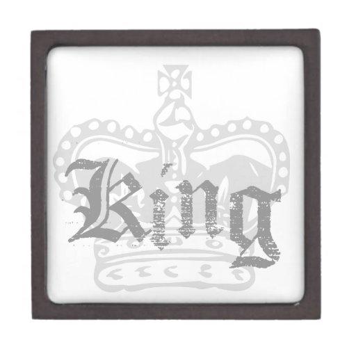 Rey Cajas De Recuerdo De Calidad