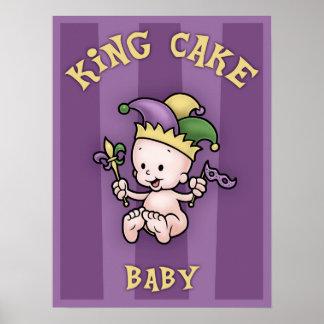 Rey Cake Baby Póster