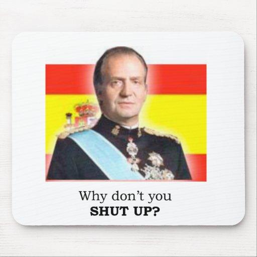"""Rey Carlos de HRM de España: ¿""""Por qué usted no ci Alfombrilla De Raton"""