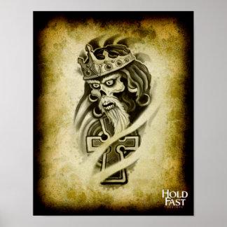 Rey céltico póster