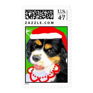 Rey Charles Cavalier Stamp Estampillas
