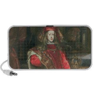 Rey Charles II de España iPod Altavoces