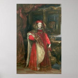 Rey Charles II de España Posters