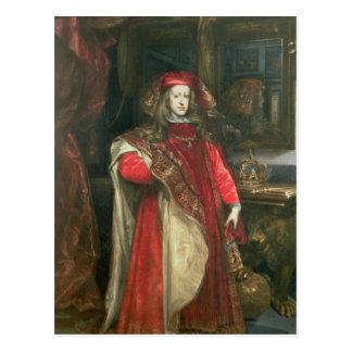 Rey Charles II de España Postal