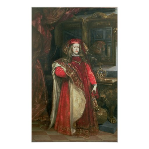Rey Charles II de España Póster