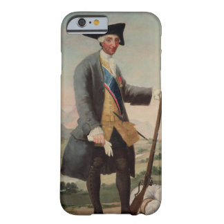 Rey Charles III (1716-88) como Huntsman, 1786/88 Funda Barely There iPhone 6