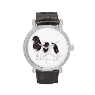 Rey Charles/reloj del perro de aguas de juguete