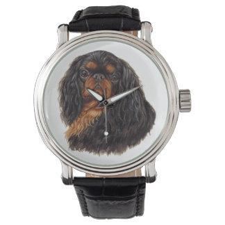 Rey Charles/reloj del perro de aguas de juguete Relojes De Pulsera