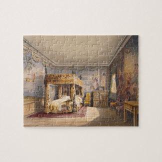 Rey Charles Room, casa de Cotehele, c.1830-40, (co Puzzles Con Fotos