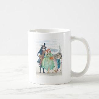 Rey Charless II y Nell Gywn Taza Clásica