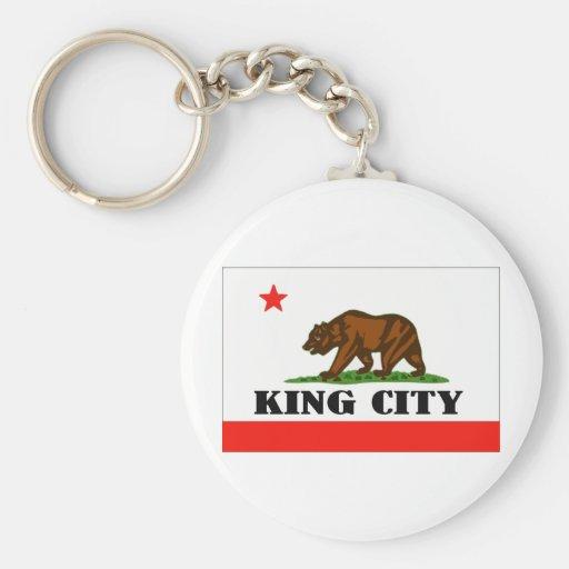 Rey City, California -- Productos Llavero Redondo Tipo Pin