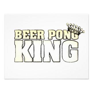 Rey clásico de Pong de la cerveza Comunicado Personal