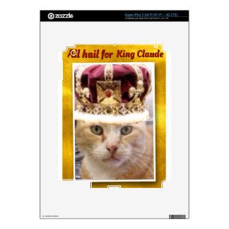 Rey Claude Pegatina Skin Para iPad 3