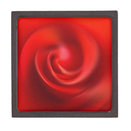 Rey color de rosa precioso de los pétalos rojos co caja de regalo de calidad