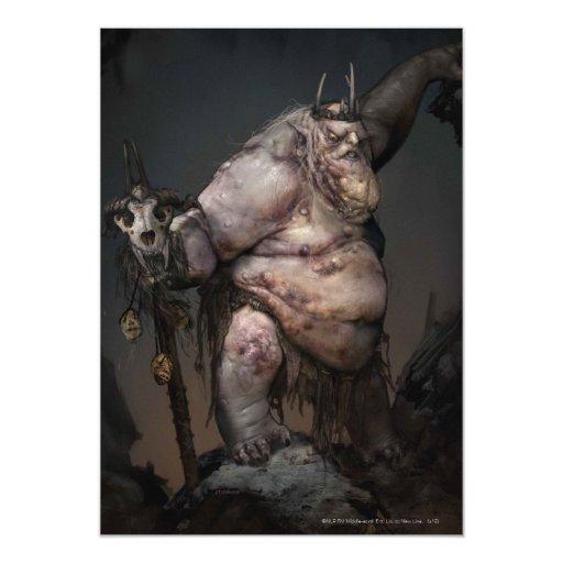 Rey Concept del Goblin Invitación 12,7 X 17,8 Cm