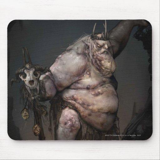 Rey Concept del Goblin Tapete De Ratón