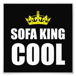 Rey Cool del sofá Fotografías