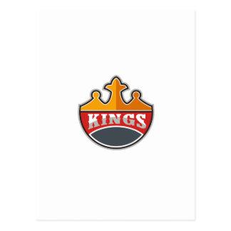 Rey Crown rey Retro Postal