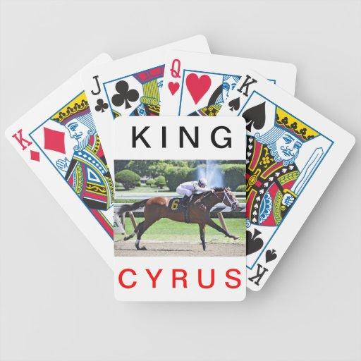 Rey Cyrus con Javier Castellano Barajas De Cartas