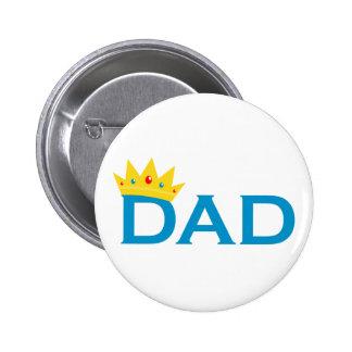 Rey Dad Pin Redondo 5 Cm
