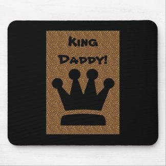 Rey Daddy Mousepad del día de padre