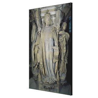 Rey David, Moses y Jeremiah Impresión En Lienzo