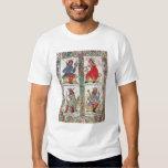 Rey David, Solomon, Luba y Turnis Camisas