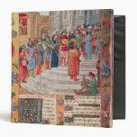 Rey David y músicos, del breviario