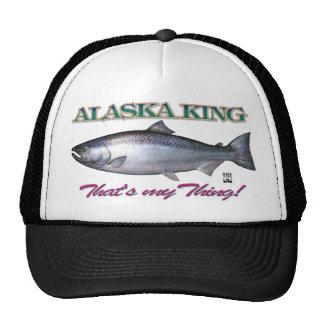 ¡Rey de Alaska que es mi cosa! Gorro De Camionero