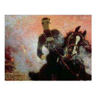 Rey de Albert I de belgas en el primer mundo Postales