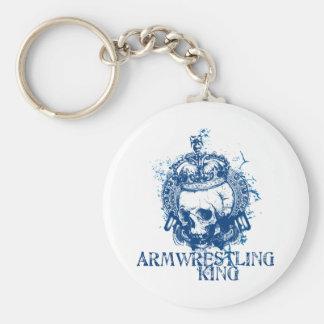 Rey de Armwrestling Llavero Personalizado
