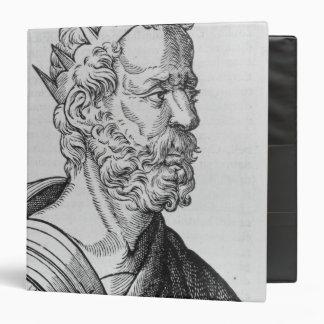 """Rey de Artaxerxes II de Persia Carpeta 1 1/2"""""""
