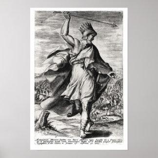 Rey de Artaxerxes II de Persia Impresiones