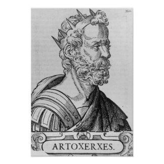 Rey de Artaxerxes II de Persia Posters