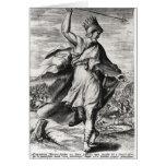 Rey de Artaxerxes II de Persia Tarjeta De Felicitación