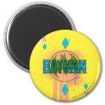 Rey de Batman de diamantes Imán Redondo 5 Cm