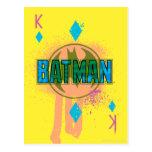 Rey de Batman de diamantes Postales
