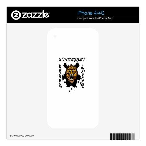 Rey de bestias iPhone 4 skins