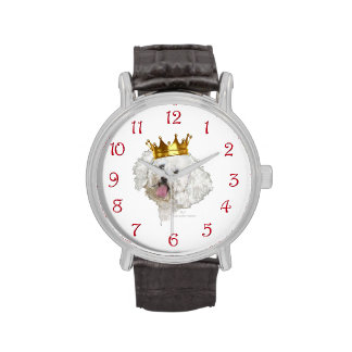 Rey de Bichon Frise Reloj De Mano