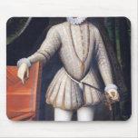 Rey de Charles IX de Francia Alfombrillas De Raton