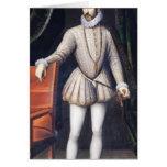 Rey de Charles IX de Francia Tarjeta De Felicitación