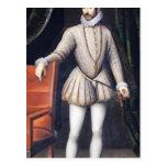 Rey de Charles IX de Francia Tarjeta Postal
