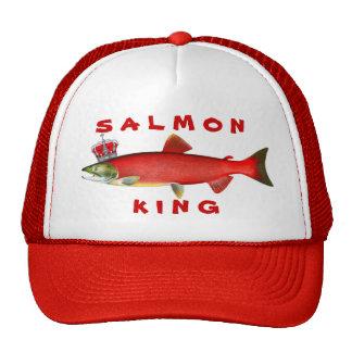 Rey de color salmón gorra