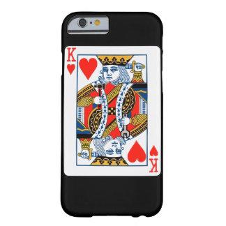 Rey de corazones funda barely there iPhone 6