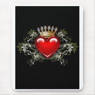 Rey de corazones alfombrilla de ratón