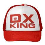 Rey de DX - rojo Gorras De Camionero