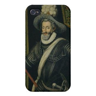Rey de Enrique IV de Francia y de Navarra, c.1595 iPhone 4 Carcasas
