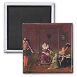 Rey de Enrique IV de jugar de Francia y de Navarra Imán Cuadrado
