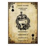Rey de espadas - tarjeta de visita
